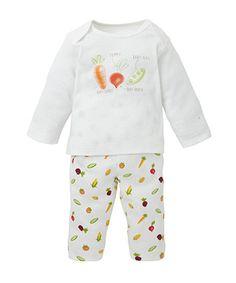 Vegetable Print Pyjamas