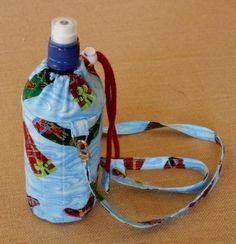 That Drink Bottle Bag_e_0oH6 - via @Craftsy