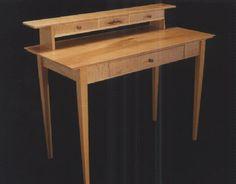 Custom Executive Desks, Custom handmade, unique, unusual executive desks - Custom Lawyers Desks - Dumond's Custom Furniture