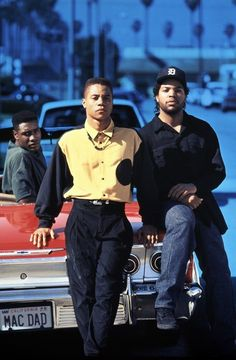 """Boyz in the Hood"" (1991) - Cuba Gooding Jr. and Ice Cube"