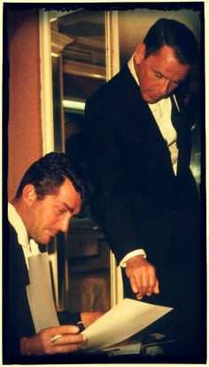 Dean Martin And Frank Sinatra