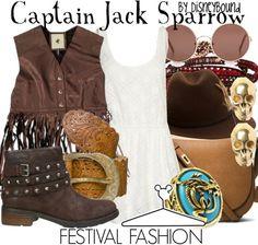 Capt Jack Sparrow - Pirates of the Caribbean