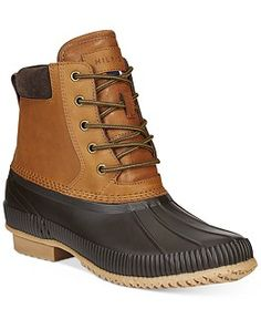 edf31bde5c1c89 Sperry Women s Saltwater Duck Booties - Boots - Shoes - Macy s Tommy  Hilfiger Duck Boots