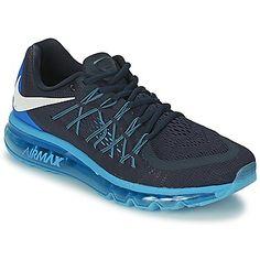 Laufen Schuhe AIR MAX 2015 Schwarz / Blau Schuhe von Nike. Preis: 188,95 € #Herrenschuhe #Sportschuhe #Nike #Schuhesale . . . . . der Blog für den Gentleman - www.thegentlemanclub.de/blog