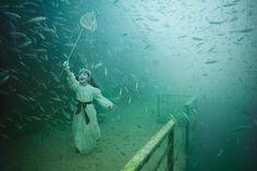Artista e fotografo andreas franke, série fotográfica debaixo de água. | superb