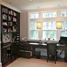 Gorgeous 75 Best Contemporary Home Office Design Ideas https://homstuff.com/2017/09/08/75-best-contemporary-home-office-design-ideas/