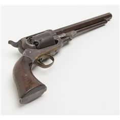 "Whitney Navy single action percussion Navy revolver, .36 cal., 7-1/2"" octagon barrel, blue finish,"