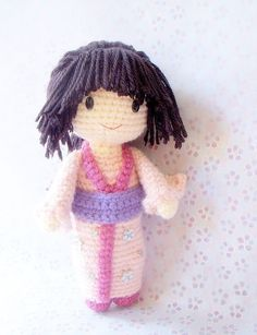 Amigurumi Kokeshi on Pinterest Kokeshi Dolls, Amigurumi ...