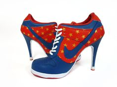 8339f4818e7 Buy Women s Nike Dunk High Heels Low Shoes Dark Blue Red White Gold Stars  Online from Reliable Women s Nike Dunk High Heels Low Shoes Dark ...