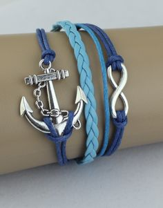 Anchor, Infinity ModWrap – Blue/Light Blue
