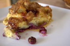365 Days of Baking and More: Blueberry French Toast Bake