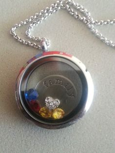 My First Origami Owl Locket which symbolizes my family.  Get your own by visiting www.tinal.origamiowl.com
