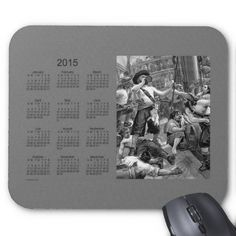 Pirates 2015 Calendar Mouse Pad Design from Calendars by Janz