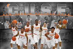 syracuse basketball 2015' | 14-'15 Syracuse Basketball Poster: Rakeem Christmas is Coming For You ...