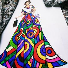Princess Zelda, Disney Princess, Disney Characters, Fictional Characters, Snow White, Illustration, Fashion Design, Instagram, Art