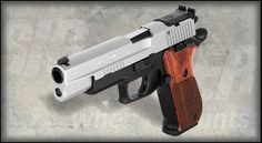 SigSauer P220 Super Match .45ACP, single action only trigger system