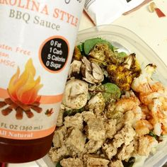 Delicious salad topped with @simplegirlsite #bbqsauce  #kale #stevia #sugarfree #bbq #lowcarb #kalesalad #salad #bigasssalad #highprotein #vegan #fiber #mushrooms #simplegirlsite #simplegirl #cauliflower #eatyourgreens #eatyourveggies #veggies #fitspo #fitfam #fitfluential