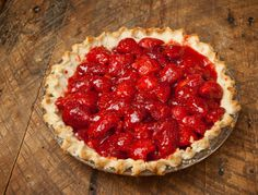 Springtime Fresh Strawberry Pie — That Susan Williams