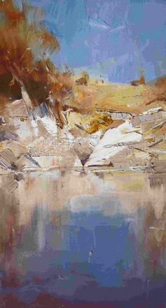 Ken Knight-----nice brushwork and color palette