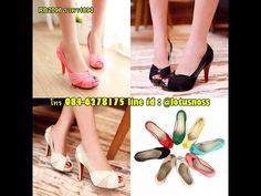 รองเท้าส้นสูง แฟชั่นเกาหลีสวยหรูออกงานแต่งงาน นำเข้าไซส์34ถึง43 พรีออเดอร์RB2096 ราคา1890บาท - YouTube