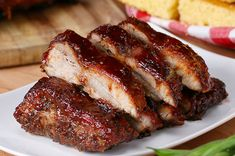 Baby Back Ribs One-Pan BBQ Baby Back Ribs. Minus the sugar and sauce. SMcOne-Pan BBQ Baby Back Ribs. Minus the sugar and sauce. Tasty Videos, Food Videos, Pork Recipes, Cooking Recipes, Healthy Recipes, Cooking Tv, Easy Steak Recipes, Bbq Baby Back Ribs, Baby Back Pork Ribs