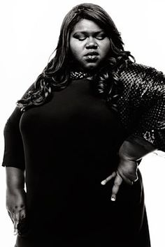"""They try to paint the picture that I was this downtrodden, ugly girl who was unpopular in school and in life, and then I got this role [in Precious] and now I'm awesome. But the truth is that I've been awesome, and then I got this role.""  - Gabourey Sidibe * I've loved this girl in every interview I've ever seen of her.  I hope she goes far with her success."