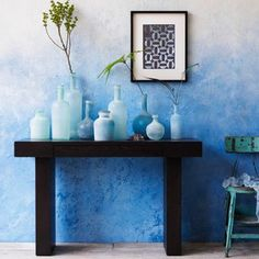 We are all about the #ombre this week! Perfect for the #beachhouse entryway.