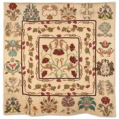 Empire Quilters Guild: Showcase. Maria Abbate The Magic of William Morris. Michele Hill pattern. My fabric.