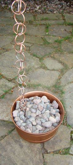 DIY Rain Chains • Lots of Ideas  Tutorials • Make your own rain chain!...