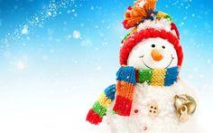 snowman, winter, christmas, snow, 3d snowman
