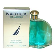 #6: Nautica Classic for Men by Nautica 3.4 oz 100ml EDT Spray.