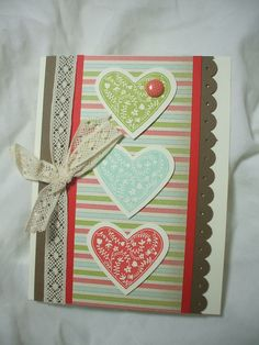Take it to Heart & Hearts Framelits samples from a Leadership swap
