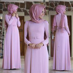 Muslim Fashion, Modest Fashion, Hijab Fashion, Fashion Dresses, The Dress, Dress Skirt, Simple Abaya Designs, Hijab Gown, Hijab Style Tutorial