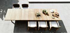 Outdoor Wooden Teak Furniture