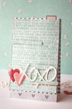 Kim Frantz - xoxo card