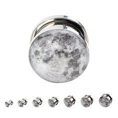 Screw-on Full Moon Plugs