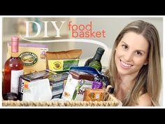 DIY Food Basket (Birthday Gift) - YouTube