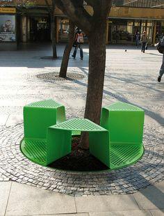 mmcité - produkty - kraty ochronne wokół drzew - sinus