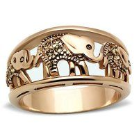 Women's Elephant Caravan Crystal Citrine Rose Gold Plated Fashion Ring Size Rose Gold Jewelry, Jewelry Rings, Fine Jewelry, Gold Jewellery, Jewelry Watches, Jewelry Ideas, Jewellery Designs, Handmade Jewellery, Jewelry Patterns