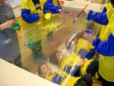 Experimentació plàstica Sensory Activities, Preschool Activities, Diy For Kids, Crafts For Kids, Toddler Art, Early Childhood Education, Teaching Art, Pre School, Preschool Crafts