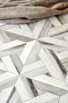 Marble floor pattern detail