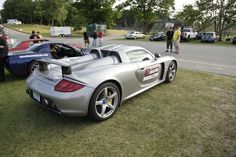 The Porsche Carrera GT participated in the 2012 OPTIMA Faceoff at Road America