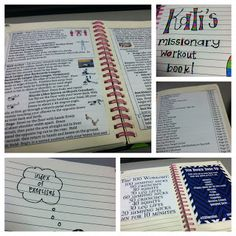 Working Out as a Sister Missionary + Exercise Book!