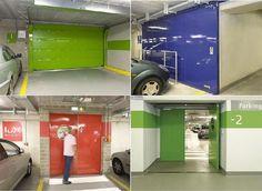 New underground car park at Luxemburg Airport