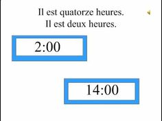 en français Telling time in French French Days, Core French, French Stuff, Teaching Schools, Teaching Math, Bane Of My Life, French Education, French Grammar, French Resources
