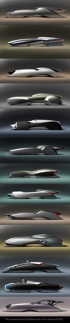 Audi Form Studies/870452 by Hussein Al-Attar via CGchips (2D, 3DCG tutorials & 3Dprinter news site) http://cgchips.com