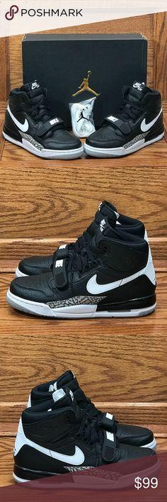 the best attitude 345ba ec986 Air Jordan Legacy 312 Black White GS Shoes Air Jordan Legacy 312 Black  White GS Size