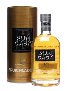 Ho ho ho and a bottle of….Bruichladdich 17 Year Old / Rum Cask Finish : Bruichladdich 17yo has been matured in American oak casks prior to an additional period in Caribbean rum casks