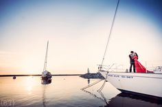 Benjie Tiongco Photography | Yacht Engagement Session | Prenup | Lendell and Nikki