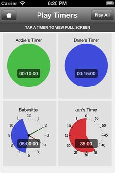 Students with special needs often have difficulty with the concept of time. the Time Timer app provides a visual representation of the time remaining that is easily recognizable without the need to understand clocks or numbers. $2.99. Suggested grade level: all ages.